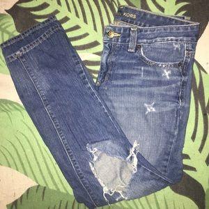 michael kors boyfriend jeans